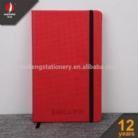 Buy cheap PU Leather Hard Cover Elastic Notebook from wholesalers