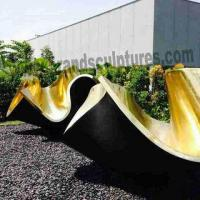 Wholesale Huge Outer Bowl Bronze Casting Sculpture for Museum Decoration from china suppliers