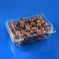Buy cheap Plastic Blueberry Packing Box Clear Plastic Vegetable Box 1500g Grapes Packing Boxes from wholesalers