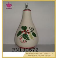 Buy cheap Wholesale Ceramic Soy Condiment Bottle Oil Sauce Pot from wholesalers