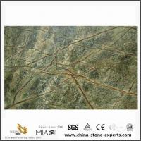 China Indian Bidasar Green Marble Slab Stone for Kitchen Countertop,Wall,Floor Design on sale