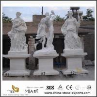 Buy cheap White Marble Art Figure Carving Sculpture for Garden, Landscape from wholesalers