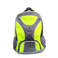 China Strong Green and Black Backpack High School Backpacks Travel Backpack on Sale on sale