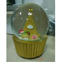 Wholesale Christmas Musical White Snow Globe for Baby from china suppliers