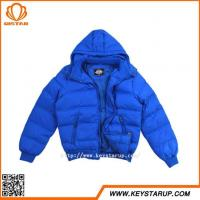Buy cheap Down -padded Warm Jacket Short Winter Coat Zipper Pocket Outerwear from wholesalers