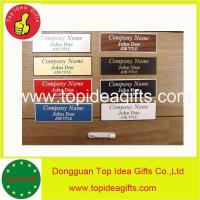 Wholesale custom designed changable acrylic workers' namebadge for wholesale from china suppliers