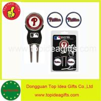 Buy cheap PHILADELPHIA PHILLIES MLB Licensed Golf Divot Tool with 3 Ball Markers Set from wholesalers
