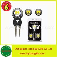 Buy cheap MICHIGAN WOLVERINES NCAA Licensed Golf Divot Tool with 3 Ball Markers Set from wholesalers