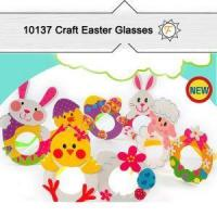 Buy cheap Easter Bunny Glasses Kits For Kids Arts And Crafts Project from wholesalers