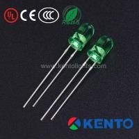 1000PCS Utra Bright 5Mm Round LED Light Emitting Diode Lamp Green Clear Lens Manufactures