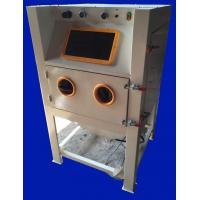 Buy cheap Professional Metal Parts Sandblasting Machine Small With Dust Collector from wholesalers