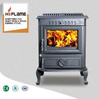 Buy cheap Olymberyl Classic Design Large Size High Output Cast Iron Wood Burning Stove HF446 from wholesalers