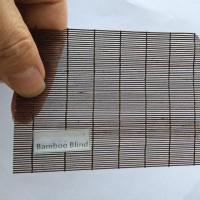 Buy cheap Micro Matchstick Bamboo Blinds from wholesalers