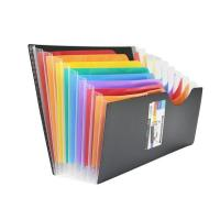 Wholesale PP Expanding File with Rainbow Pocket from china suppliers