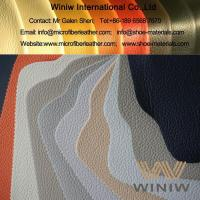 Wholesale High Quality Synthetic Microfiber Leather Fabric Upholstery Material from china suppliers