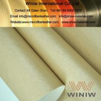 Buy cheap Luxury PU Faux Leather Vinyl Upholstery Leather from wholesalers