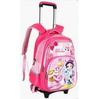 China Girls School Bag With Wheels Rolling Backpack For Kid on sale