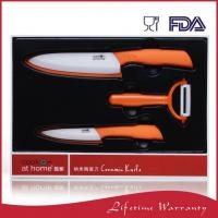 Buy cheap Unique Best Home Ceramic Kitchen Knife Set With Cover from wholesalers