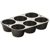 Buy cheap Lodge L5P3 Cast Iron Cookware Muffin/Cornbread Pan, Pre-Seasoned from wholesalers