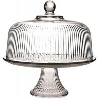 Buy cheap Anchor Hocking Monaco Cake Set with Ribbed Dome from wholesalers