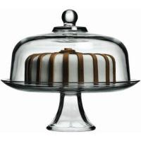 Buy cheap Glass Cake Pedestal. 12 Pedestal Cake Stand. Pressed Glass. from wholesalers
