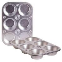 Buy cheap Cooking Concepts Toaster Oven 6-cup Size Metal Muffin / Cupcake Pan, 1 lb from wholesalers