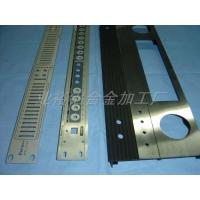 Buy cheap Aluminum faceplate for home amplifier from wholesalers