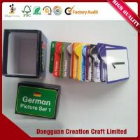Buy cheap Custom Mini Memory Matching Cards Game Printed Kids Flash Cards Learning Playing Memory Card from wholesalers