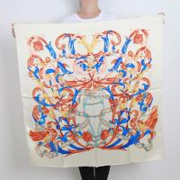 Buy cheap Customize Logo High Quality 100% Silk Scarf Printed Painting Bandana from wholesalers