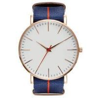 Buy cheap Classic Design Men Gold Watch with Nylon Band from wholesalers