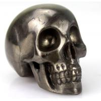 Wholesale Top Gift Craft Iron Pyrite Skull Carving 3 Inch Stone Craft from china suppliers