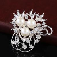 Buy cheap Pearl Diamond-studded Scarves Buckle Dual-use Clothing from wholesalers