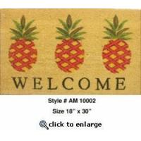 Buy cheap Pineapples Welcome Mat from wholesalers