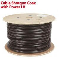 Buy cheap CCTV Cable Shotgun CCTV Coax with Power LV 100m from wholesalers