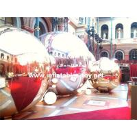 Buy cheap Christmas Decoration Golden Mirror Balls for Event Party Show from wholesalers