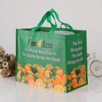 Green Shopping Non Woven Bags Reusable Handles with Cheap Prices Promotional Wholesale Manufactures