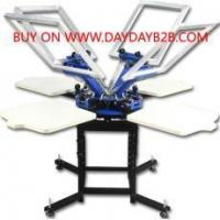Buy cheap Double Rotary 4 Color 4 Station Screen printer Double Rotary 4 Color 4 Station Screen printer from wholesalers