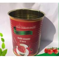Wholesale Green Food 400g*24tins Wholesale Canned Tomato Paste from china suppliers