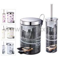 Buy cheap BBS-40031 Bathroom set, with different design printing from wholesalers