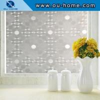 Buy cheap H5406 Mirror embossed static cling window stickers from wholesalers
