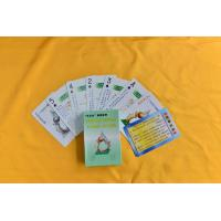 Buy cheap Advertising cards Anti drug propaganda cards from wholesalers