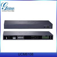 Wholesale Grandstream UCM6108 8 port fxo fxs card asterisk elastix voip ip pbx from china suppliers