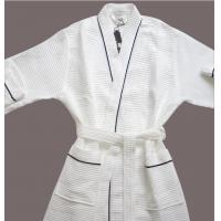 Buy cheap Hotel Luxury Waffle Bathrobe from wholesalers