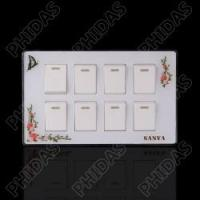 Buy cheap K30 Eight Gang Electrical Switch from wholesalers