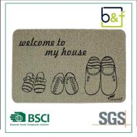 Newest Stylish Printing Horse Pattern Non-slip Natural Rubber Mat for Office
