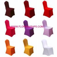 China Tulle/Net/Mesh Spandex Chair Cover on sale