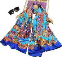 Buy cheap New Design Satin Square Silk Scarf YQ3005 from wholesalers