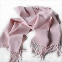 Buy cheap Pure Cashmere Scarf Solid New Pink HC3021 from wholesalers