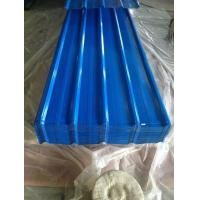Prepainted Roll formed Corrugated Aluzinc Steel Roof Iron Manufactures