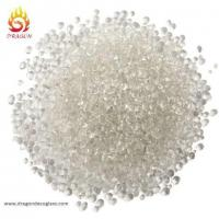 China Swimming Pool Color Glass Beads 1-3mm Clear Glass Beads Irregular on sale